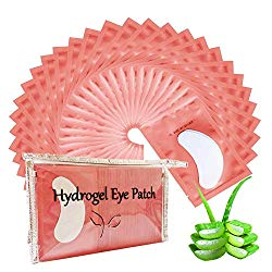 110 Pair Under Eye Pads, Lint Free Lash Extension Eye Gel Patches for Beauty Salon False Eyelash Extensions Grafting, Hydrogel Eye Mask Beauty Makeup Tool