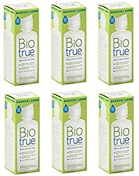 Bausch and Lomb Bio True Multi-Purpose Solution 2 Oz Travel Size (Pack Of 6)