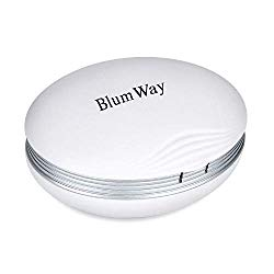 Contact Lens Cleaner Machine, Blumway Ultrasonic Contact Lens Cleaner with USB Charger, Small & Portable, Fit Disposal Soft Lens, Hard Lens, Contact Lens, Colored Lens, RGP Lens & OK Lens