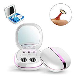 Portable Ultrasonic Contact Lens Cleaner, Colored Contact Lenses Case Travel Kit Faster Cleaning Daily Care