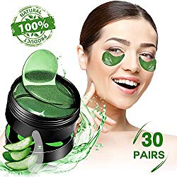SHVYOG Under Eye Patches – 30 Pairs | Aloe Vera Under Eye Bags Treatment | Anti-Aging Eye Gel Pads | Under Eye Mask with Hyaluronic Acid for Dark Circles, Wrinkles, Puffy Eyes, Fine Lines