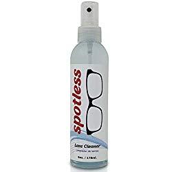 Spotless Lens Cleaner – 6 oz Cleaning Spray Bottle | Safe to Clean Coated Lenses and Blue Light Blocker Eyeglasses (Pack of 1)