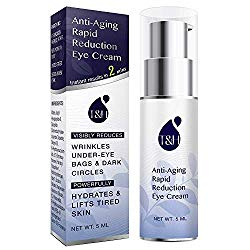 Anti-Aging Rapid Reduction Eye Cream by TEREZ & HONOR – Visibly and Instantly Reduces Wrinkles, Under-Eye Bags, Dark Circles in 120 Seconds, Hydrates & Lifts Skin