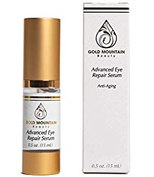 Dark Circles Under Eye Bags Treatment Serum – Firming & Brightening Eye Repair Cream with Anti Aging Complexes to Reduce Puffiness, Wrinkles & Fine Lines for Men & Women