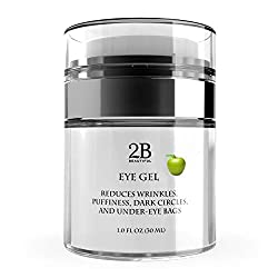 Eye Gel for Wrinkles, Puffiness, Dark Circles, Puffy Eyes, Under Eye Bags, anti Sagging, Fine Lines, Crows Feet for Women and Men, 1 oz Unisex Eye Cream