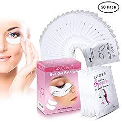 Eye Gel Pads – 50 Pairs of Eyelash Lash Extension Under Eye Gel Pads Eye Patches